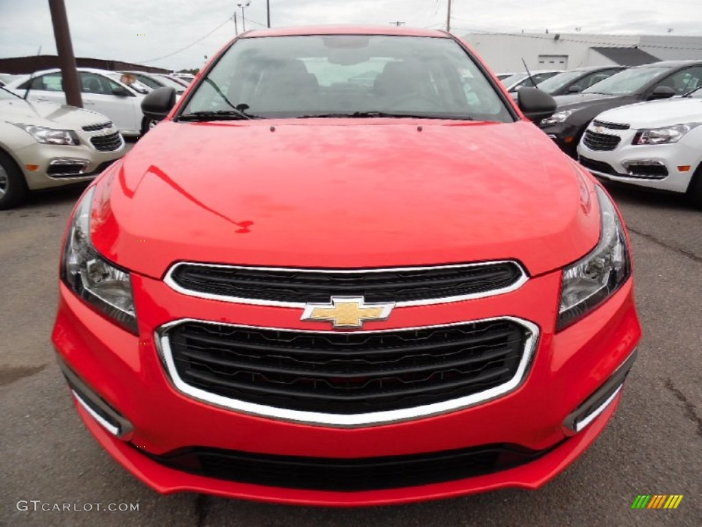 2016 Cruze Limited LS - Red Hot / Jet Black/Medium Titanium photo #2