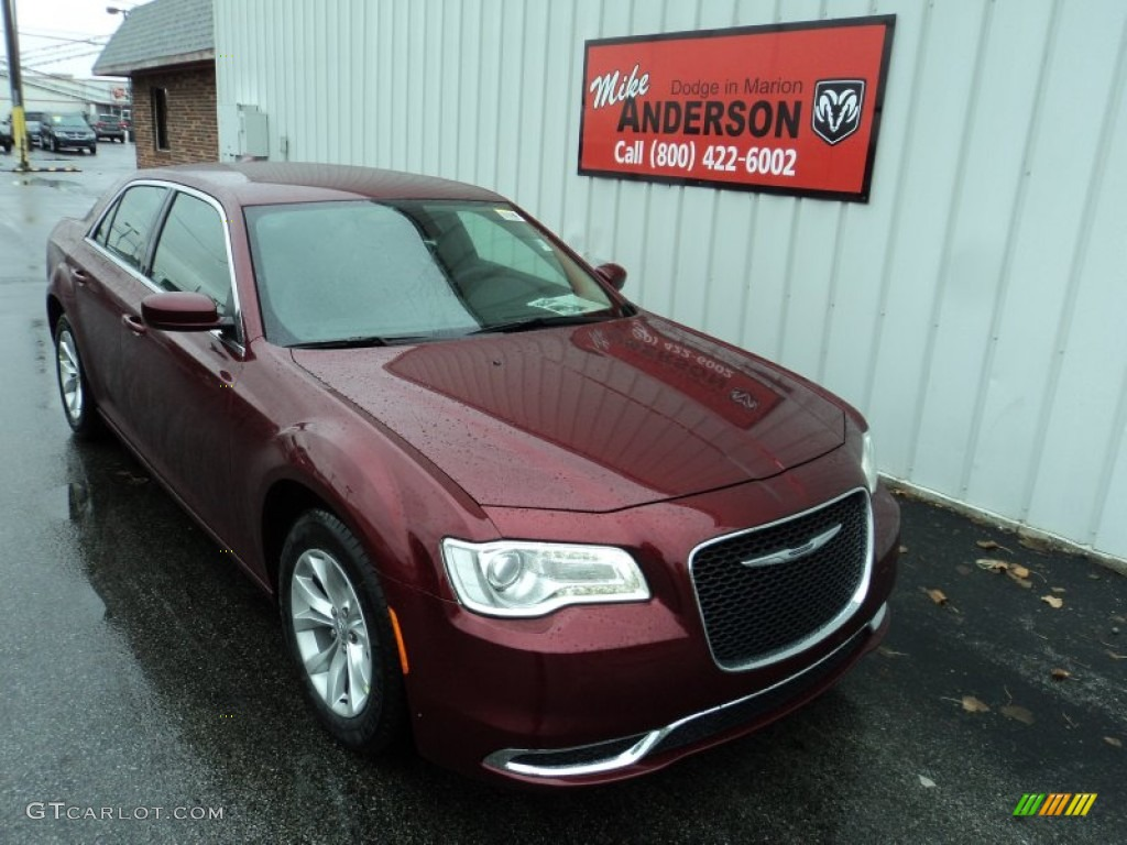 Velvet Red Pearl Chrysler 300