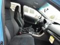Carbon Black/Hyper Blue Front Seat Photo for 2016 Subaru WRX #107644940