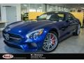 Brilliant Blue Metallic - AMG GT S Coupe Photo No. 1