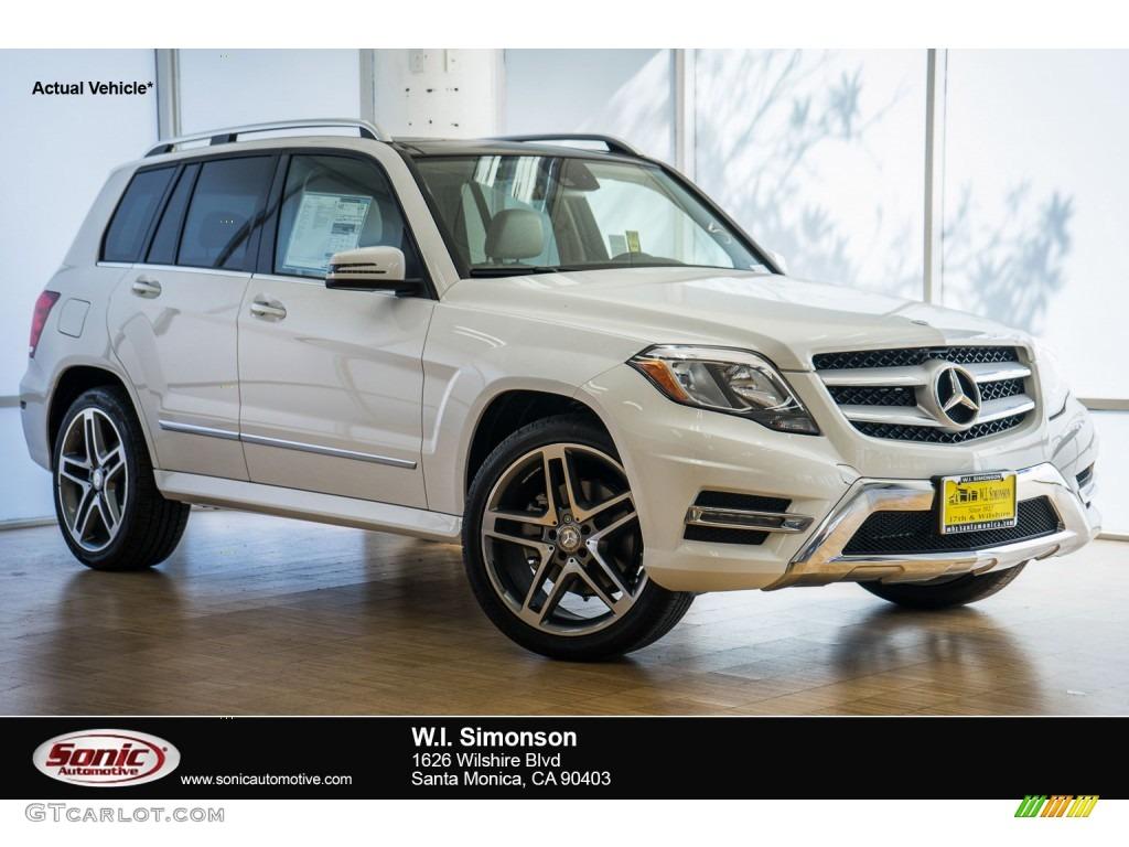 2015 polar white mercedes benz glk 350 107636522 for Mercedes benz polar white paint