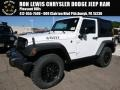 Bright White 2016 Jeep Wrangler Gallery