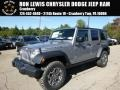 2016 Billet Silver Metallic Jeep Wrangler Unlimited Rubicon 4x4  photo #1