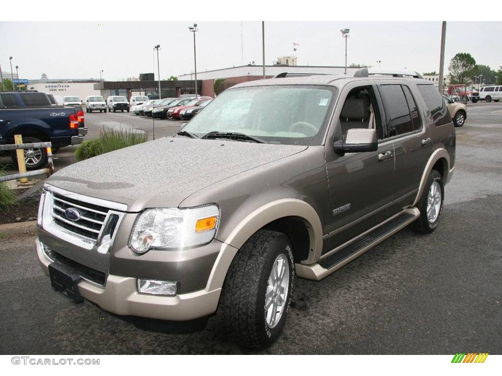 Mineral grey metallic ford explorer