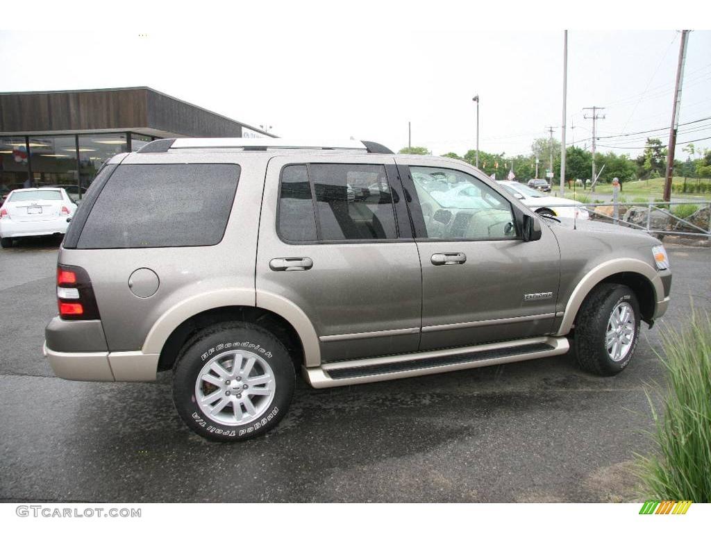 2006 Mineral Grey Metallic Ford Explorer Eddie Bauer 4x4 10720919 Photo 4