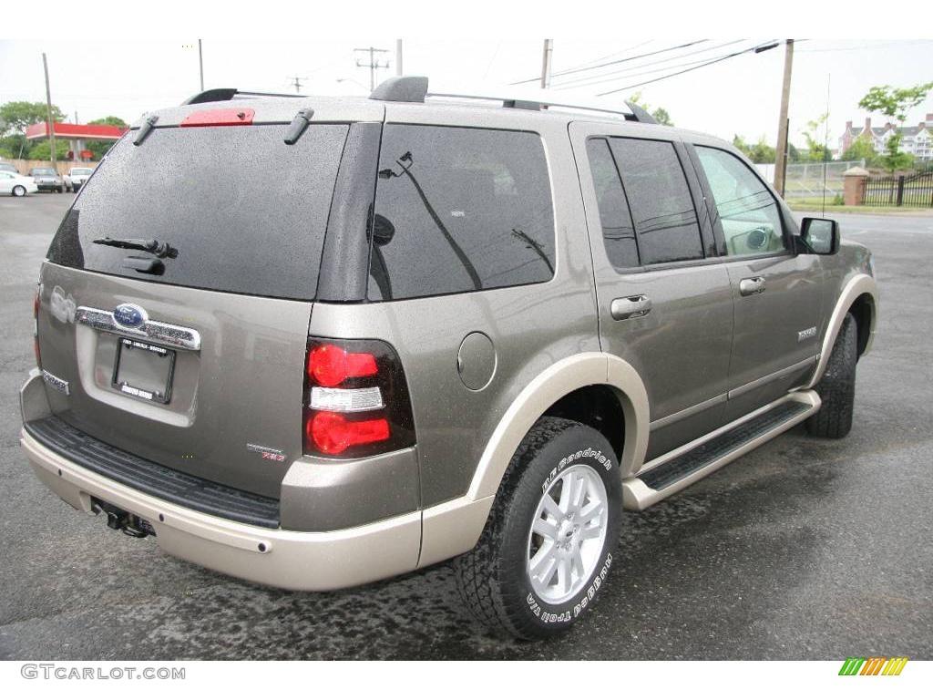 2006 Mineral Grey Metallic Ford Explorer Eddie Bauer 4x4 10720919 Photo 5