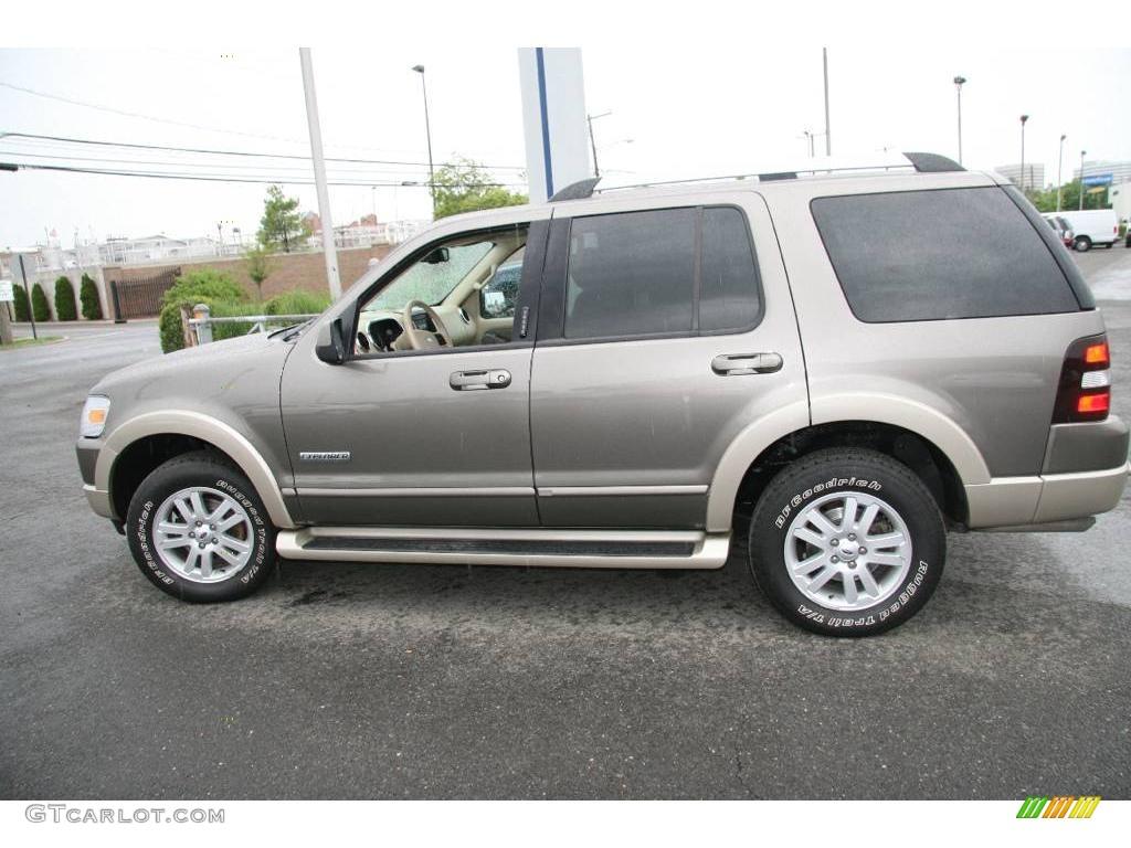 2006 Mineral Grey Metallic Ford Explorer Eddie Bauer 4x4 10720919 Photo 9