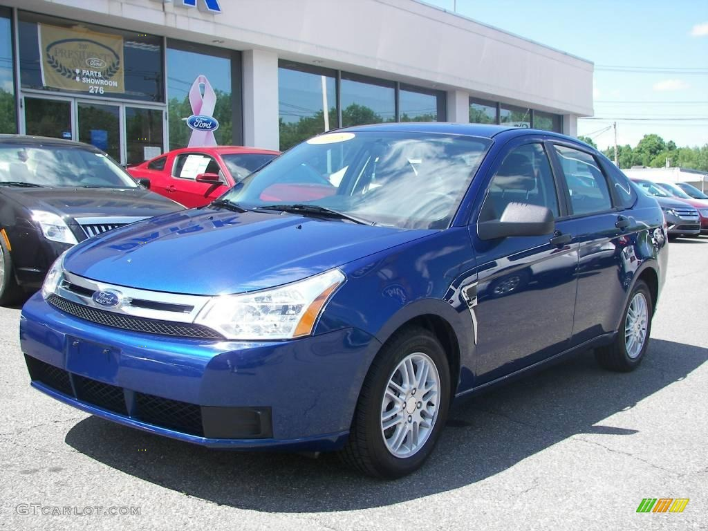 2008 vista blue metallic ford focus se sedan 10732720 car color galleries. Black Bedroom Furniture Sets. Home Design Ideas