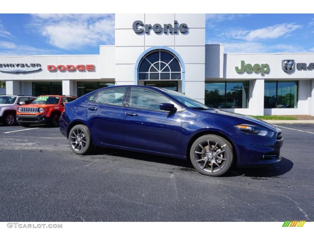 True Blue Pearl Dodge Dart