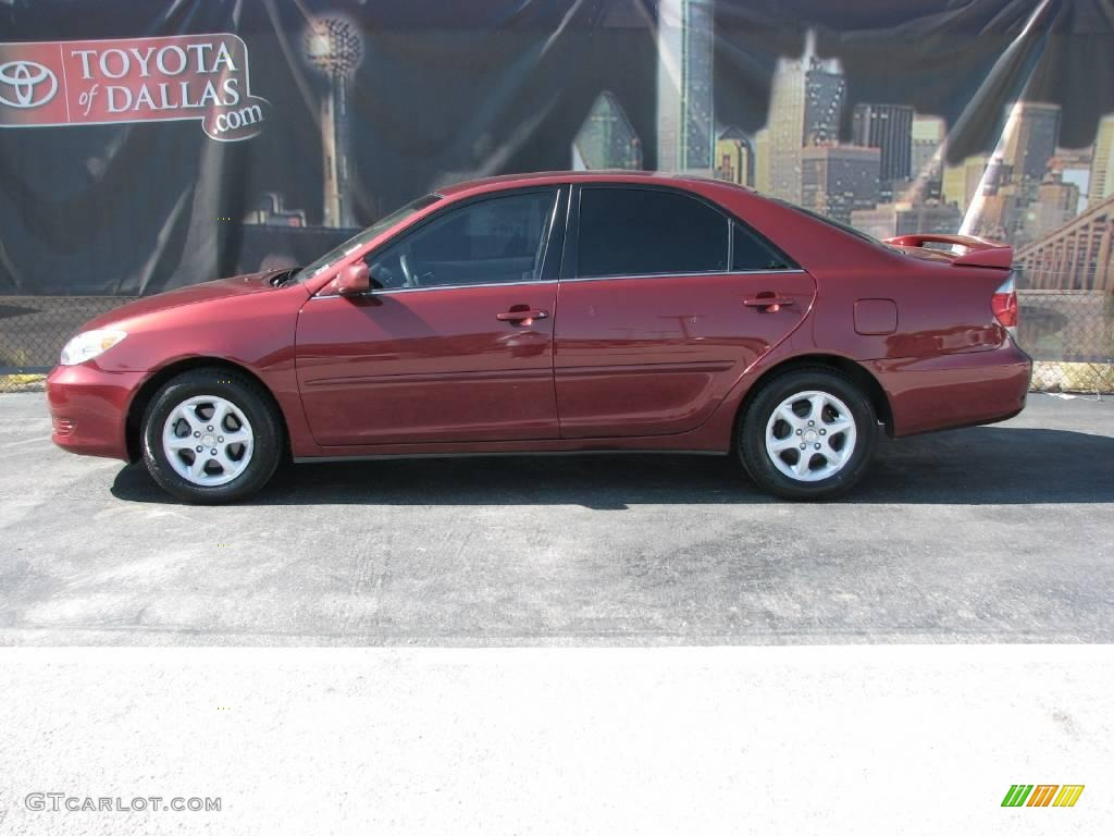 2006 salsa red pearl toyota camry le 10724514 car color galleries. Black Bedroom Furniture Sets. Home Design Ideas