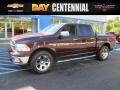 2012 Deep Molten Red Pearl Dodge Ram 1500 Laramie Crew Cab 4x4  photo #1
