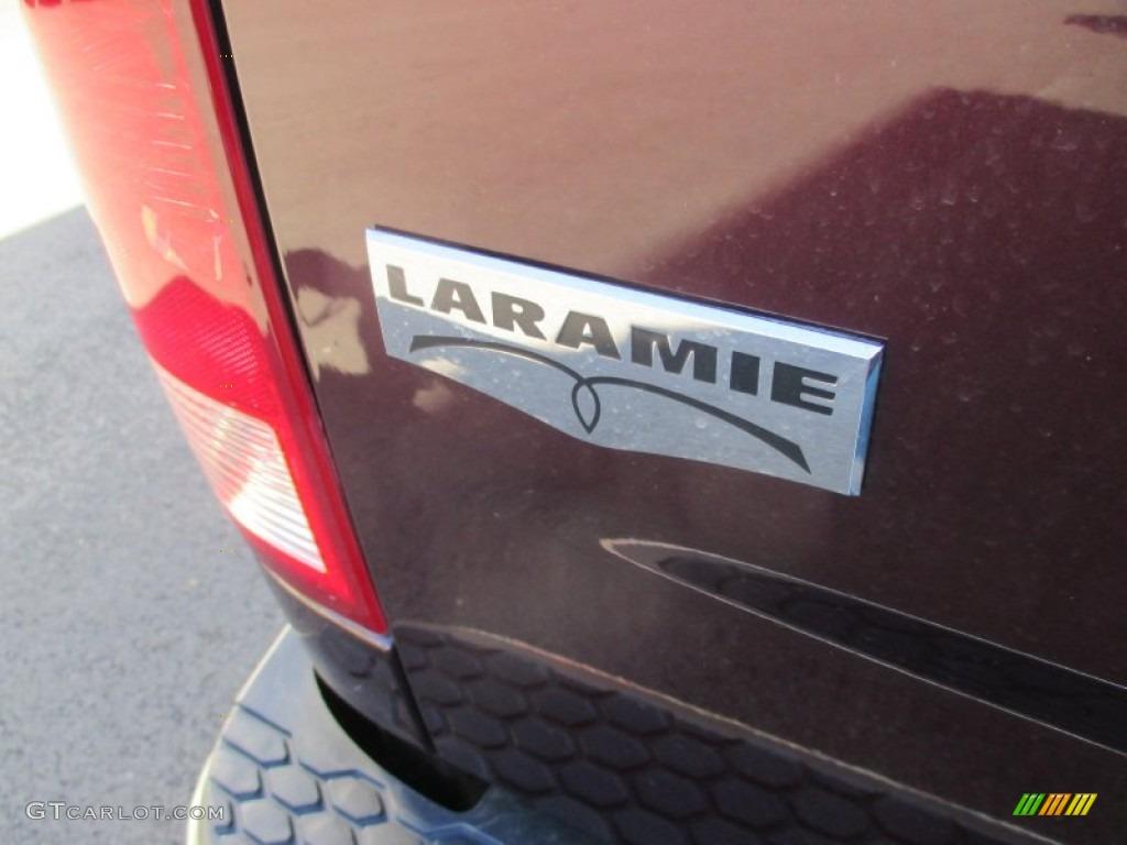 2012 Ram 1500 Laramie Crew Cab 4x4 - Deep Molten Red Pearl / Dark Slate Gray photo #8
