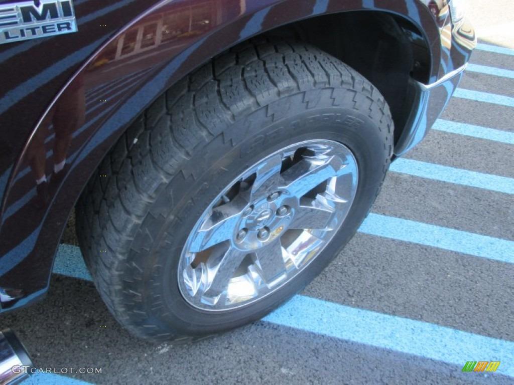 2012 Ram 1500 Laramie Crew Cab 4x4 - Deep Molten Red Pearl / Dark Slate Gray photo #13