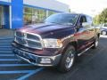 2012 Deep Molten Red Pearl Dodge Ram 1500 Laramie Crew Cab 4x4  photo #17
