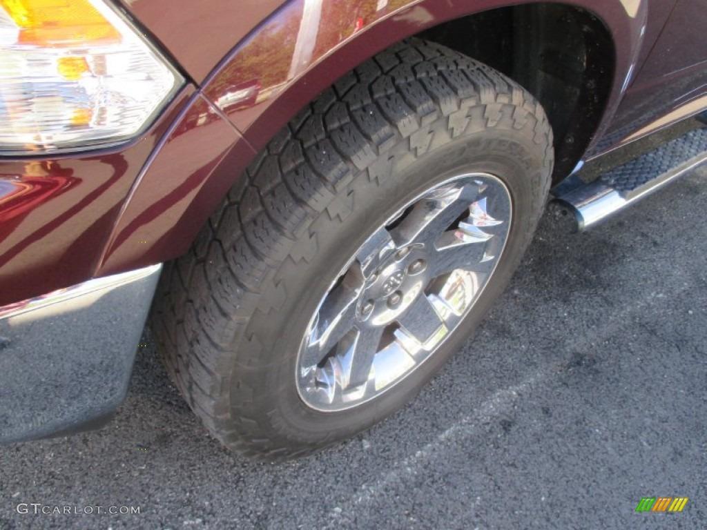 2012 Ram 1500 Laramie Crew Cab 4x4 - Deep Molten Red Pearl / Dark Slate Gray photo #18