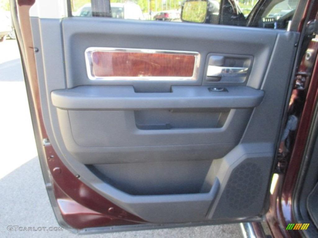 2012 Ram 1500 Laramie Crew Cab 4x4 - Deep Molten Red Pearl / Dark Slate Gray photo #25