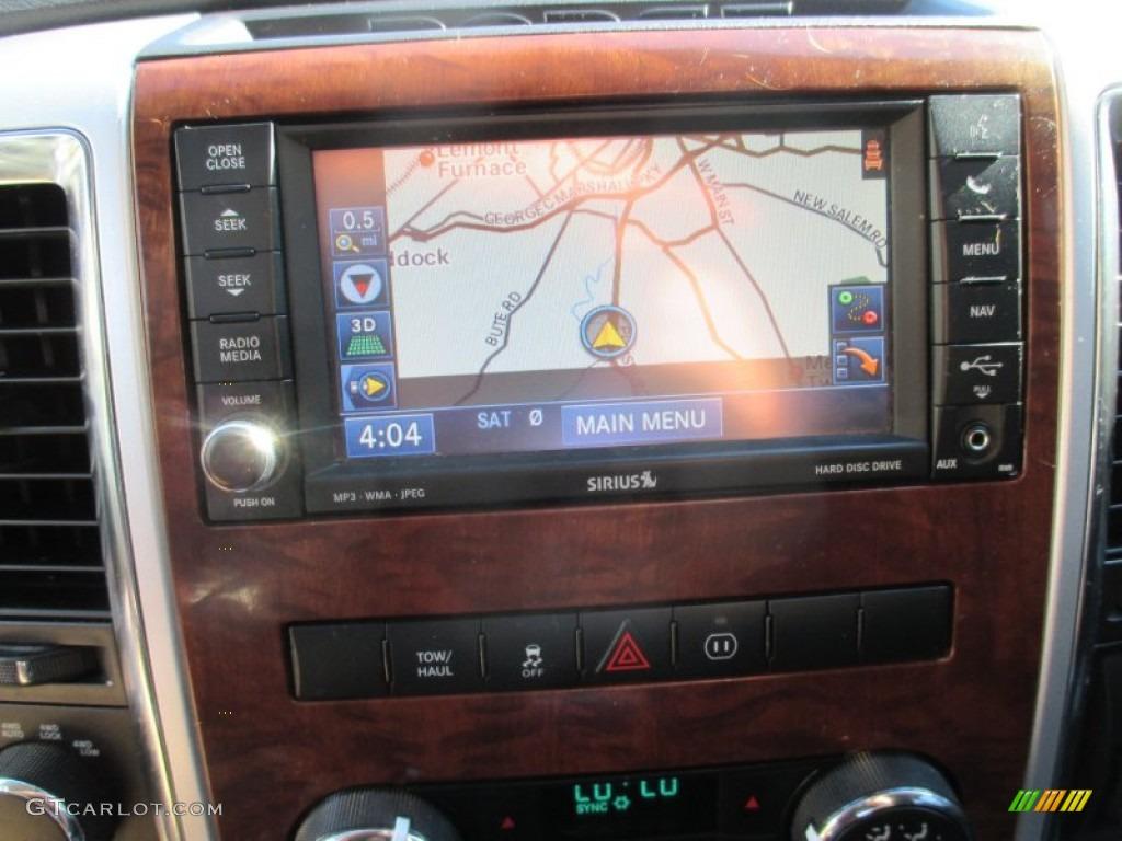 2012 Ram 1500 Laramie Crew Cab 4x4 - Deep Molten Red Pearl / Dark Slate Gray photo #32