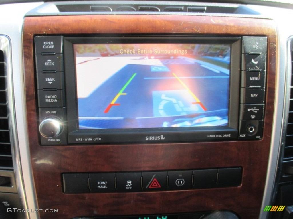 2012 Ram 1500 Laramie Crew Cab 4x4 - Deep Molten Red Pearl / Dark Slate Gray photo #34