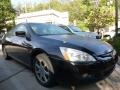 Nighthawk Black Pearl 2003 Honda Accord EX V6 Coupe