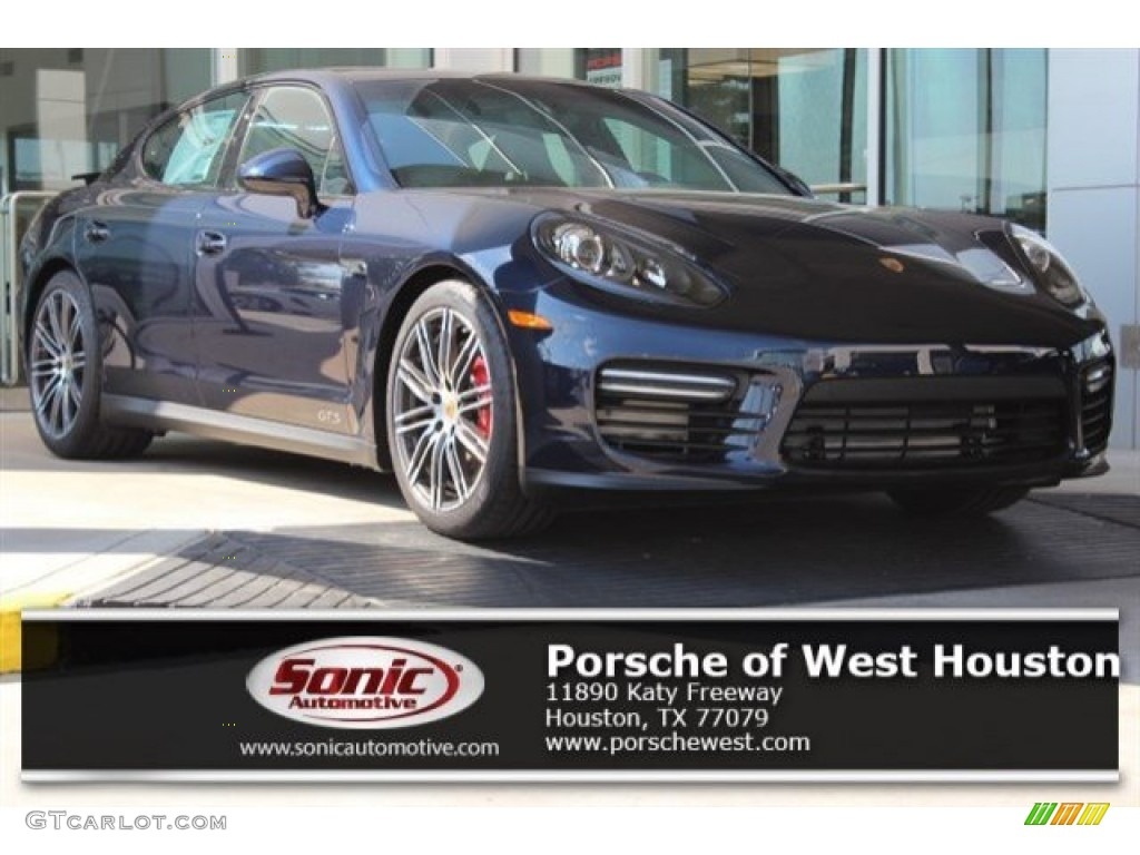 2016 night blue metallic porsche panamera gts 107724693. Black Bedroom Furniture Sets. Home Design Ideas