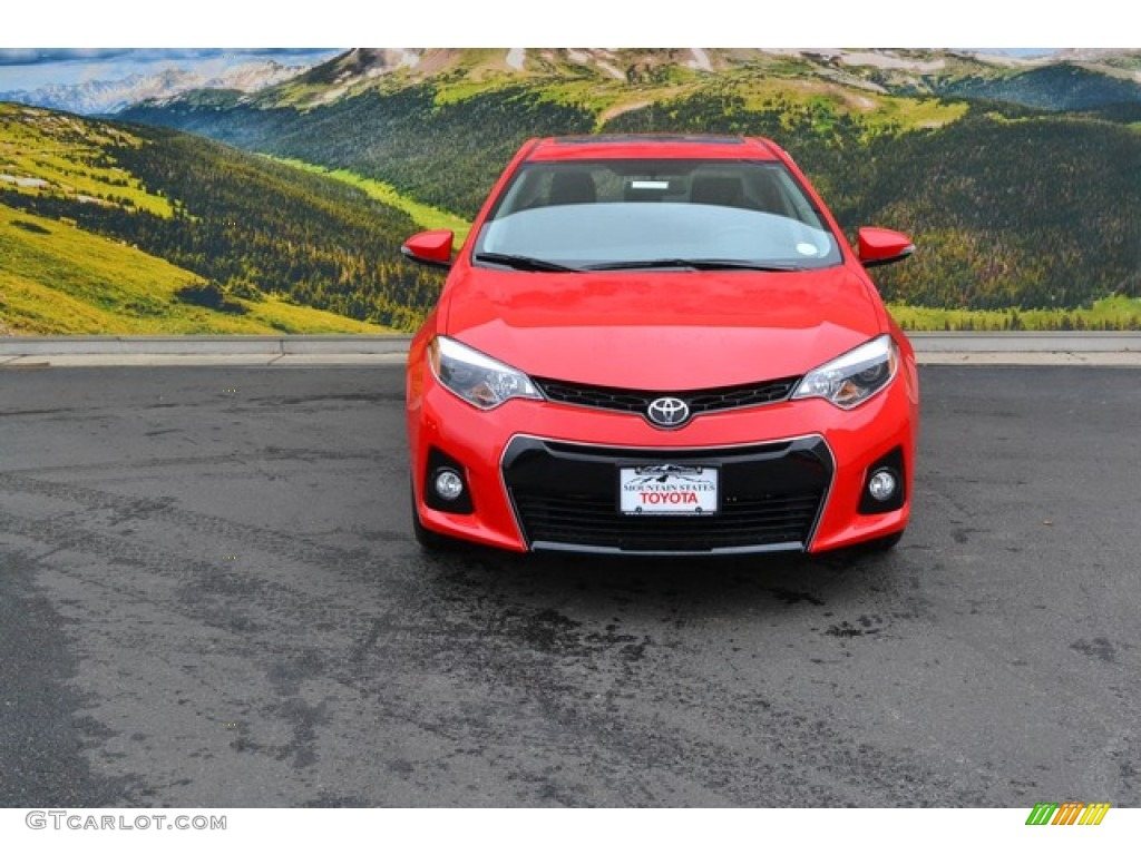 2016 Absolutely Red Toyota Corolla S Special Edition 107724307 Photo 2 Car