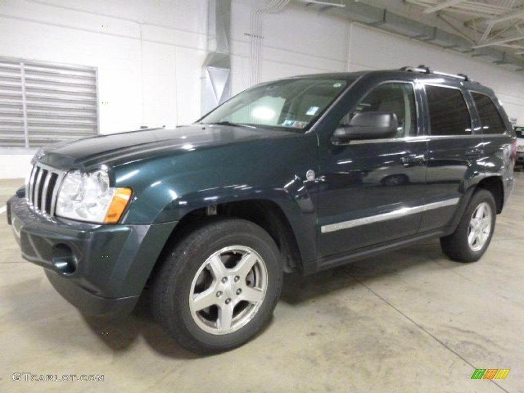 2005 Grand Cherokee Limited 4x4 - Deep Beryl Green Pearl / Medium Slate Gray photo #1