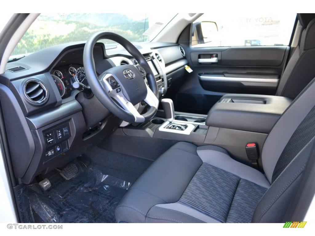 2016 Tundra SR5 Double Cab 4x4 - Super White / Graphite photo #5