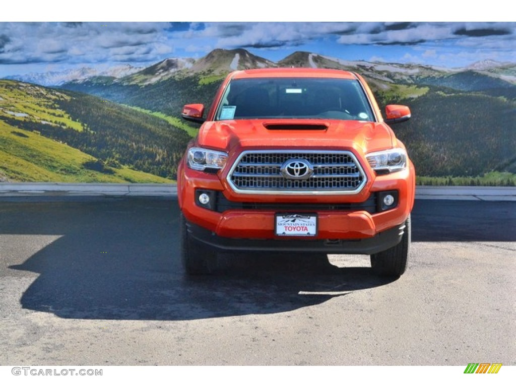 2016 inferno orange toyota tacoma trd sport double cab 4x4. Black Bedroom Furniture Sets. Home Design Ideas