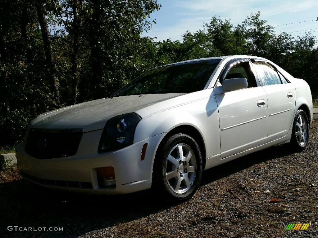 2005 white diamond cadillac cts sedan 107762087 photo 9 car color galleries. Black Bedroom Furniture Sets. Home Design Ideas