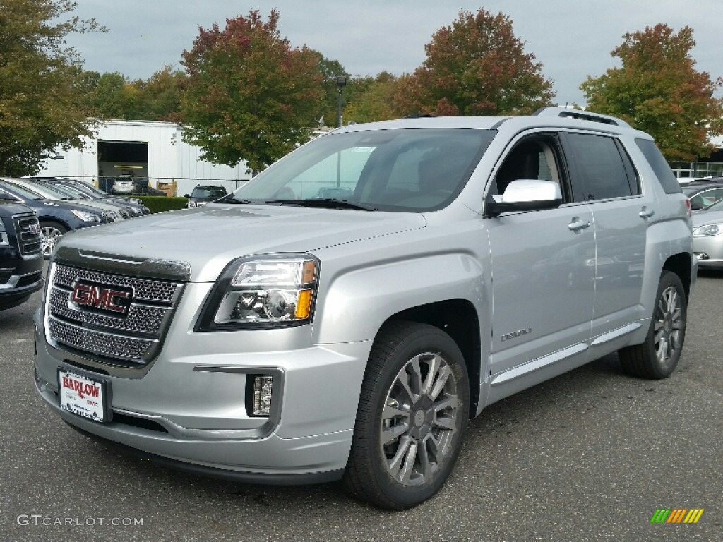 2016 quicksilver metallic gmc terrain denali awd 107761588 car color galleries. Black Bedroom Furniture Sets. Home Design Ideas
