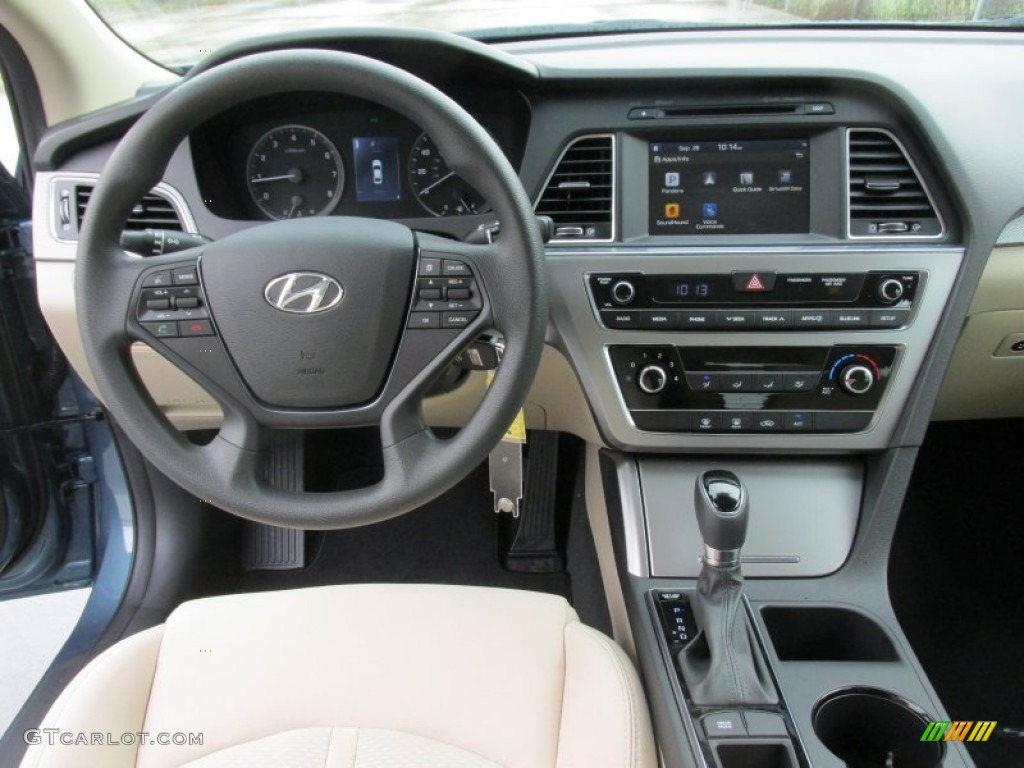 beige interior 2016 hyundai sonata se photo 107786678. Black Bedroom Furniture Sets. Home Design Ideas