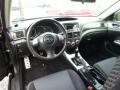 2010 Subaru Impreza Carbon Black Interior Interior Photo