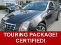 Black Diamond Tricoat 2012 Cadillac CTS 3.0 Sedan