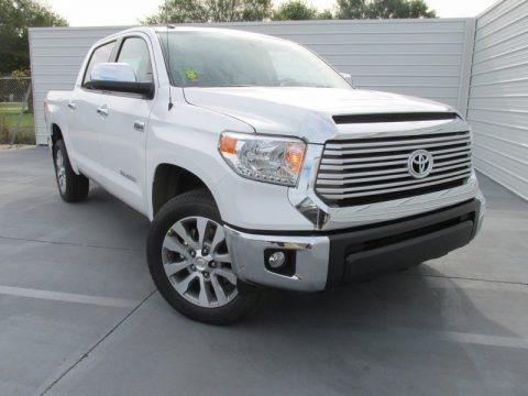 2016 Toyota Tundra Limited CrewMax Data, Info and Specs