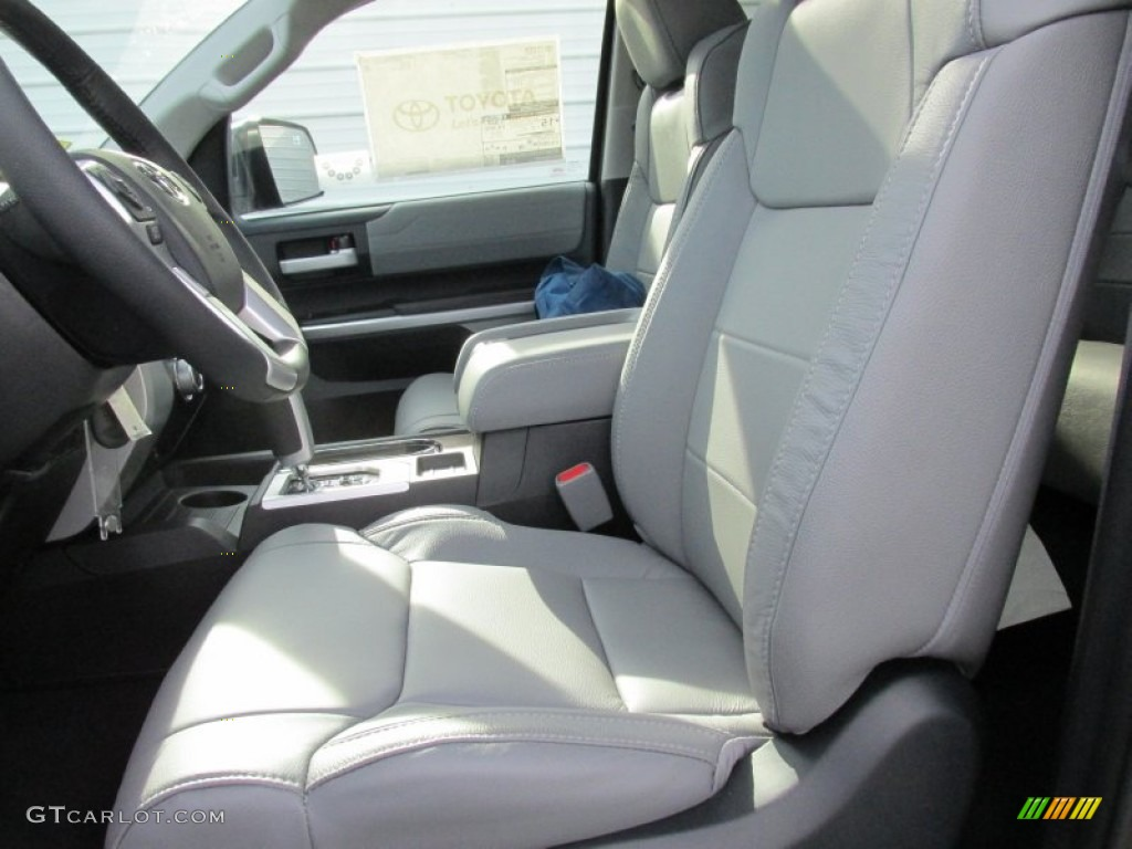 Toyota Tundra Double Cab >> Graphite Interior 2016 Toyota Tundra Limited CrewMax Photo ...