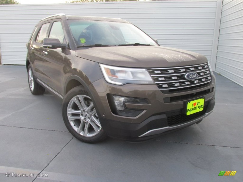 2016 Explorer Limited - Caribou Metallic / Ebony Black photo #1