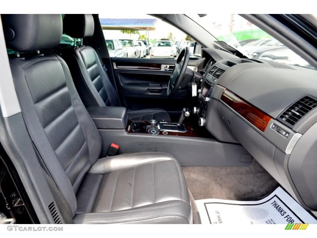 2004 Volkswagen Touareg V8 Interior Color Photos