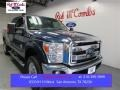 2015 Blue Jeans Ford F250 Super Duty Lariat Crew Cab 4x4  photo #1