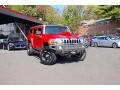 Victory Red 2007 Hummer H3