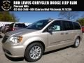Cashmere/Sandstone Pearl 2016 Chrysler Town & Country Limited Platinum