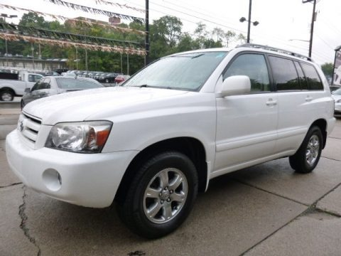 2007 toyota highlander v6 4wd data info and specs. Black Bedroom Furniture Sets. Home Design Ideas