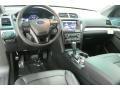Ebony Black Prime Interior Photo for 2016 Ford Explorer #107880489