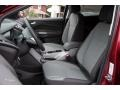 Charcoal Black Front Seat Photo for 2016 Ford Escape #107883447