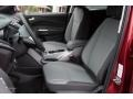 Charcoal Black Front Seat Photo for 2016 Ford Escape #107883474
