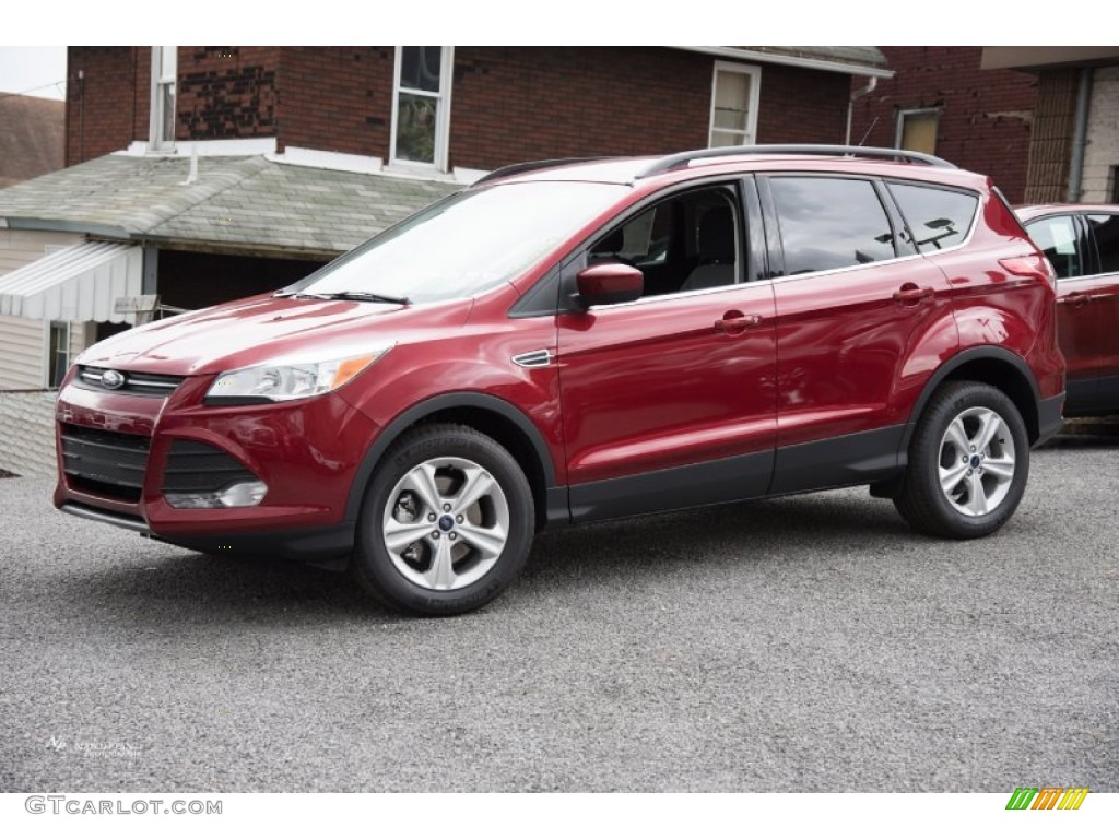 Ruby Red Metallic Ford Escape