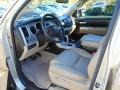 2008 Toyota Tundra Beige Interior Interior Photo