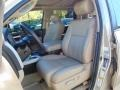 2008 Toyota Tundra Beige Interior Front Seat Photo
