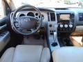2008 Toyota Tundra Beige Interior Dashboard Photo