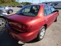 2001 Cayenne Red Metallic Chevrolet Cavalier LS Sedan  photo #4