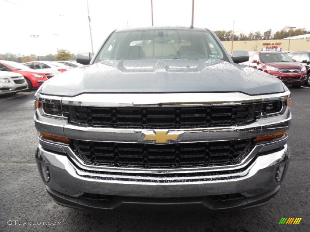 Slate Grey Metallic 2016 Chevrolet Silverado 1500 LT Double Cab 4x4 Exterior Photo #107903868